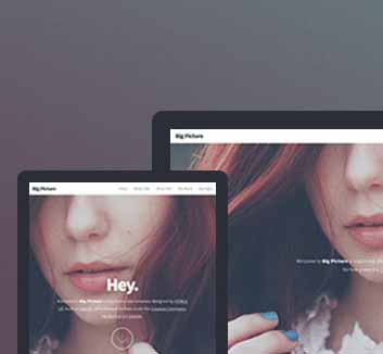 Free Website Big Picture - Designed by HTML5 UP